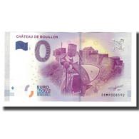 Belgique, Billet Touristique - 0 Euro, Belgium - Bouillon - Château De Bouillon - België