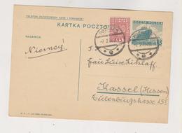POLAND POZNAN 1936 Postal Stationery To Germany - 1919-1939 République