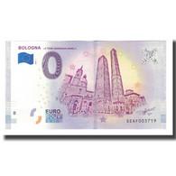 Italie, Billet Touristique - 0 Euro, Italy - Bologna - Les Tours Garisenda Et - Otros
