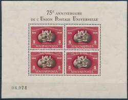 * 1950 UPU Fogazott Blokk (160.000) - Stamps
