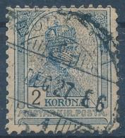 O 1904 Turul 2K 11 1/2 Fogazással (40.000) - Stamps