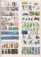 LOT BUL 92CY2 - Bulgaria 1992 - Complete Year - Sammlungen (ohne Album)
