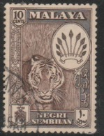 1961 USED STAMPS FROM MALAYSIA ,NEGRI SEMBILAN / Coat Of Arms & Local Motif - Negri Sembilan