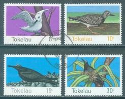 TOKELAU - USED/OBLIT. - 1977 - BIRDS - Yv 57-60 -  Lot 21650 - Tokelau