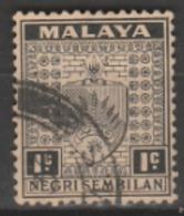1935 USED STAMPS FROM MALAYSIA ,NEGRI SEMBILAN / Coat Of Arms - Negri Sembilan