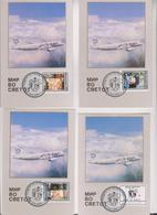 MACEDONIA 1993 SKOPJE Red Cross Nice Postcards - Macedonië