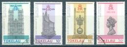 TOKELAU - USED/OBLIT. - 1978 - SILVER ANNIV. CORONATION ELIZABETH II - Yv 61-64 -  Lot 21651 - Tokelau