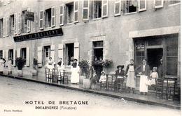 DOUARNENEZ   HOTEL DE BRETAGNE - Douarnenez