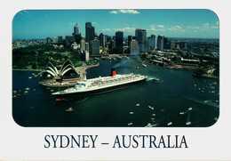 Sydney. Q.E. II - Australia