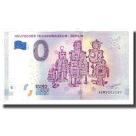 Allemagne, Billet Touristique - 0 Euro, Germany - Berlin - Deutches - Deutschland