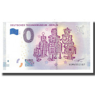 Allemagne, Billet Touristique - 0 Euro, Germany - Berlin - Deutches - Allemagne