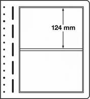 Leuchtturm Blankoblätter LB 2 (10 Blätter=1VE) Neu ( - Vírgenes