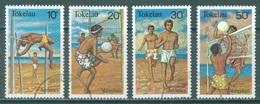 TOKELAU - USED/OBLIT. - 1981  - ATHLETICS VOLLEYBALL - Yv 77-80 -  Lot 21654 - Tokelau