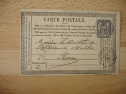 Honfleur A Lisieux Carte Postale Precurseur   Ambulant Convoyeur Poste Ferroviaire - Postmark Collection (Covers)