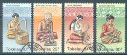TOKELAU - USED/OBLIT. - 1982  - ARTS - Yv 81-84 -  Lot 21655 - Tokelau
