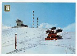 ANDORRE--PORT D'ENVALIRA--Sud Radio --( Dameuse De Pistes De Ski....) - Andorra
