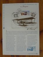 Document Officiel FDC 11-597 Aviation Aviateur Henri Péquet Aircraft Pilot Poste Aérienne 2011 - Aviones