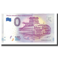 Allemagne, Billet Touristique - 0 Euro, Germany - Nürburg - Truck-Grand-Prix - Altri