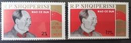"""Albanien 1968, """"Mao Zedong"""" Mi 1327-28 MNH Postfrisch - Albanie"""