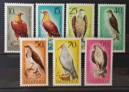 Albanien 1966, Raubvögel Mi 1124-30 MNH Postfrisch - Albanien