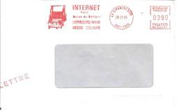 EMA FRANCE HORBOURG WIHR MANUTENTION INTERNET SARL COLMAR HAUT RHIN 1985 BELFORT - Usines & Industries