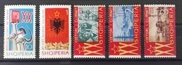 Albanien 1964, Mi 887-91 MNH Postfrisch - Albanien