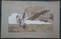 Année Scolaire 1914/15 - Récompenses Aux Enfants - éroplane & Avion Allemand - 1914-18