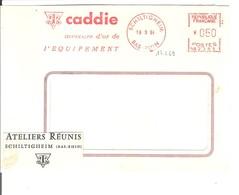 EMA FRANCE MANUTENTION BAS RHIN 1964 CADDIE MERCUR D OR EQUIPEMENT SCHILTIGHEIM - Usines & Industries