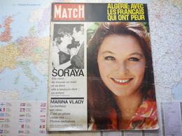 Paris Match N°700 8 Septembre 1962 Soraya / Marina Vlady / Algérie : Avec Les Français Qui Ont Peur - Informations Générales