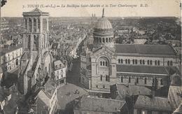 Cartes Postales Anciennes De Tours La Basilique Saint Martin - Tours