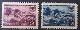 Albanien 1947, Mi 430-31 MNH Postfrisch - Albanien