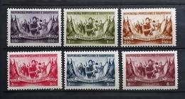Albanien 1954, Mi 533-38 MNH Postfrisch - Albanien