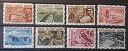 Albanien 1953, Mi 525-32 MNH Postfrisch - Albanien