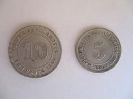 Malaysia - Straits Settlements 5 + 10 Cents 1926 - Malaysia