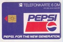 TK  24900 GERMANY - K495  05.93 Pepsi 6 000 Ex. - Alemania