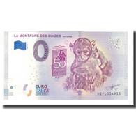 France, Billet Touristique - 0 Euro, 67/ Kintzheim - La Montagne Des Singes - France