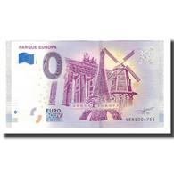 Espagne, Billet Touristique - 0 Euro, Spain - Madrid - Parque Europa Torrejon De - Autres