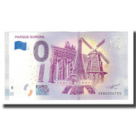 Espagne, Billet Touristique - 0 Euro, Spain - Madrid - Parque Europa Torrejon De - Spanje