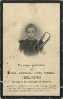 Maria Verlinden  :  Oosterloo Geel  1886  -- 1900       (  See Scans )   KIND - ENFANT - CHILD - Imágenes Religiosas