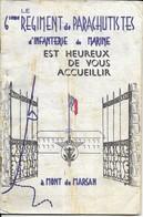 40 MONT DE MARSAN . LE 6e REGIMENT DE PARACHUTISTES BULLETIN DE 1967 - Mont De Marsan