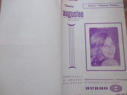 NAPOLI Cinema AUGUSTEO  Programma Film I Lunghi Giorni Delle Aquile Michael Caine Laurence OlivierPubblicità - Programs