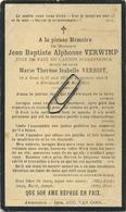 Jean Verwimp    :  Geel   1852   -- Arendonk  1911     (  See Scans ) - Imágenes Religiosas