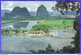Carte Postale Chine Guilin  Fragrant Lotus Pont  Très Beau Plan - Chine