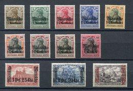 Deutsche Post In Marokko Mi Nr. 46-57** - Bureau: Maroc