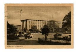 GG 1942 Ansichtskarte Warschau Volksmuseum Nach Rechtenbach Bei Lohr - Occupation 1938-45