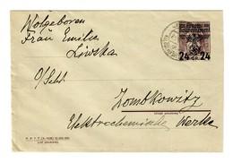 GG 1940: Ganzsache U1 Jezow, Dorf Jankowittz - Besetzungen 1938-45