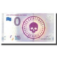 France, Billet Touristique - 0 Euro, 75/ Paris - Les Catacombes De Paris, 2019 - Frankrijk