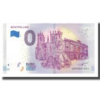 France, Billet Touristique - 0 Euro, 34/ Montpellier - Fontaine Des Trois - Frankrijk