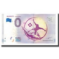 France, Billet Touristique - 0 Euro, 64/ Biarritz - La Cité De L'Océan, 2018 - Frankrijk