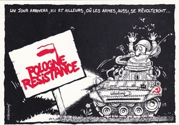 Pologne Résistance - Satirical